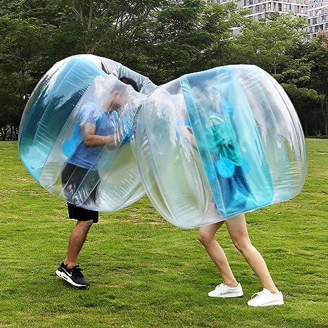 Pelota hinchable para el parachoques de bolas de burbujas para adultos y niños: Amazon.es: Deportes y aire libre