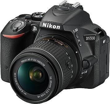 Nikon D5500- Cámara réflex digital de 24.2 Mp (pantalla 3.2 ...