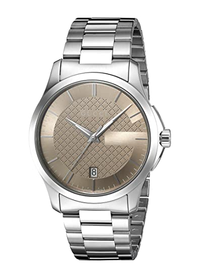 nuovo stile b44bf 39589 Orologio Uomo Gucci YA126445: Amazon.it: Orologi