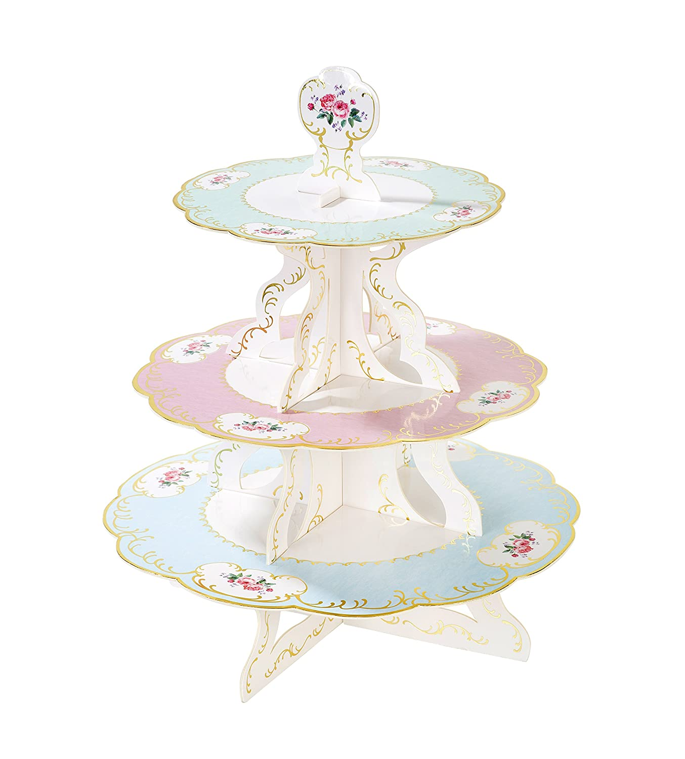 Talking Tables Truly Chintz 3 Tier Reversible Cake Stand (H36 x W30cm) TSCHINTZ-CAKESTAND
