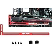 upHere Soporte de Tarjeta gráfica, Un Soporte para Tarjeta de Video, una Carcasa GPU Mod- Aluminio(Rojo) GL01