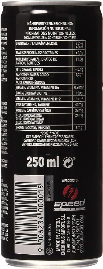 Genérico - Bebida energética speed unlimited: Amazon.es: Hogar