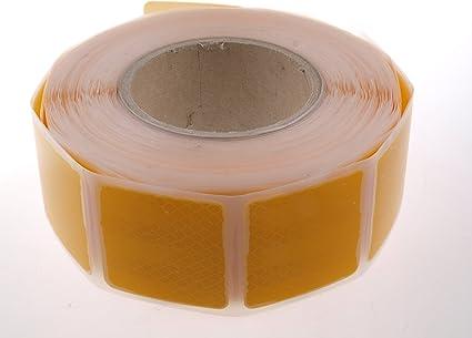 Wamo 1m 3m Reflexfolie Reflexstreifen Konturmarkierung Gelb Für Planenaufbauten Auto