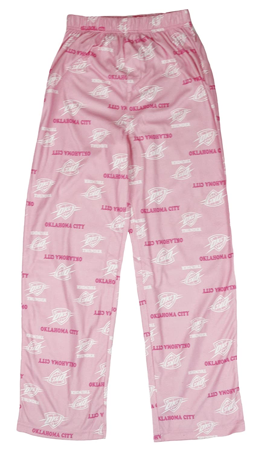 Oklahoma City Thunder NBA Big Girls Youth Lounge Pajama Pants, Pink