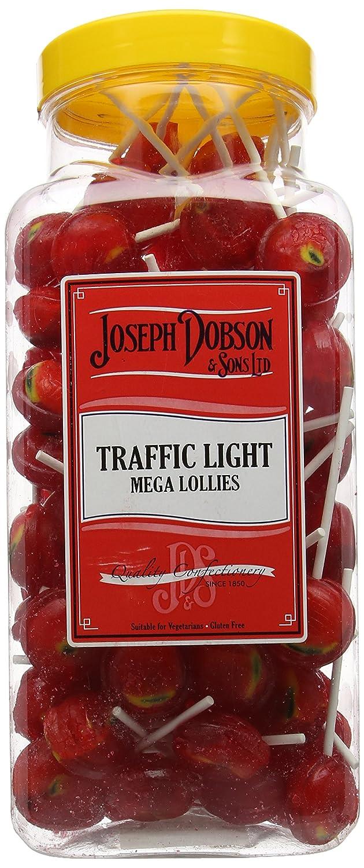 25 Lemon & Lime Mega Lollies joseph Dobson Lemon & Lime X 25 Halal Gluten Free Cheap Sales Food & Beverages