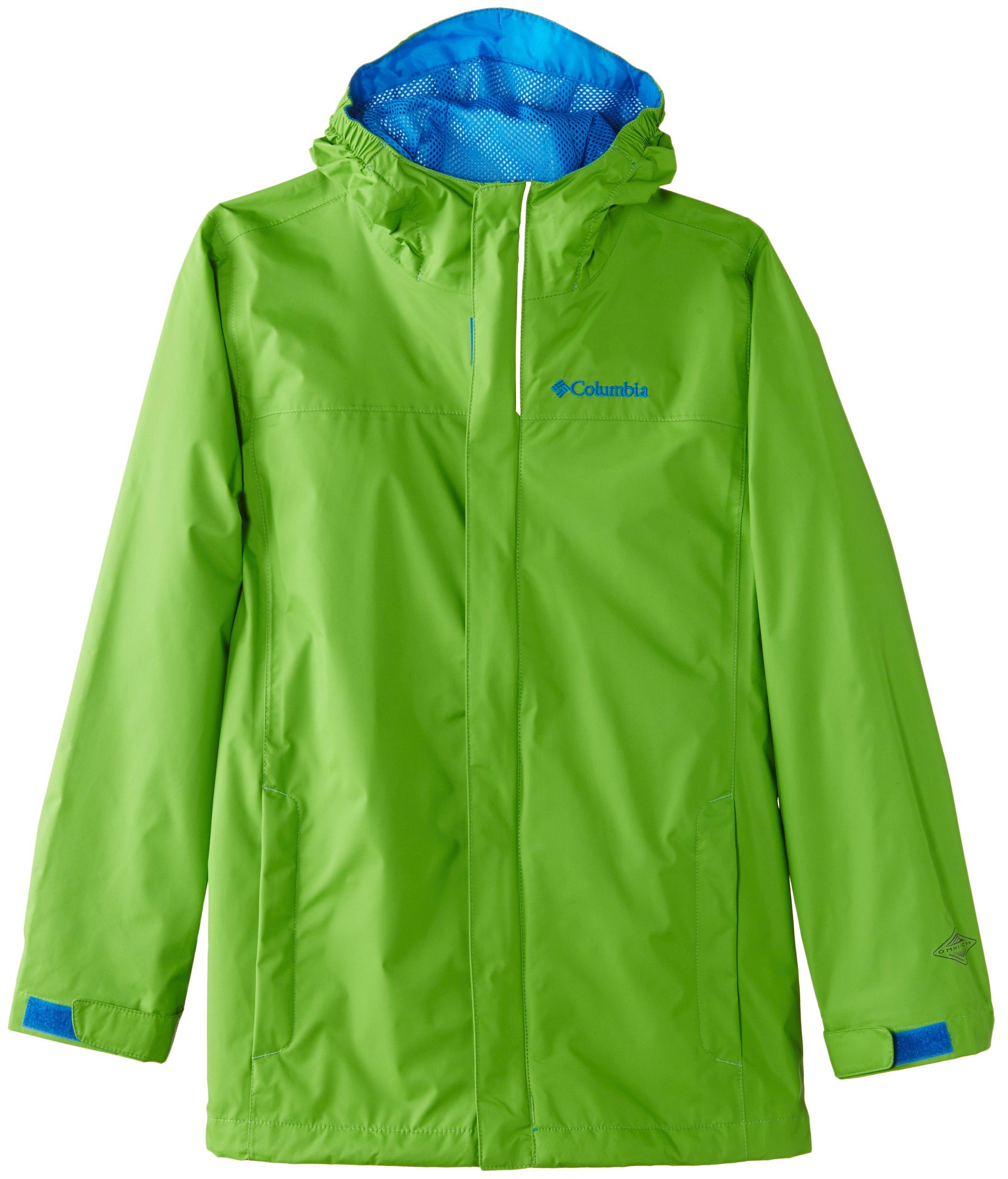 Columbia Little Boys' Watertight Jacket, Cyber Green, XX-Small