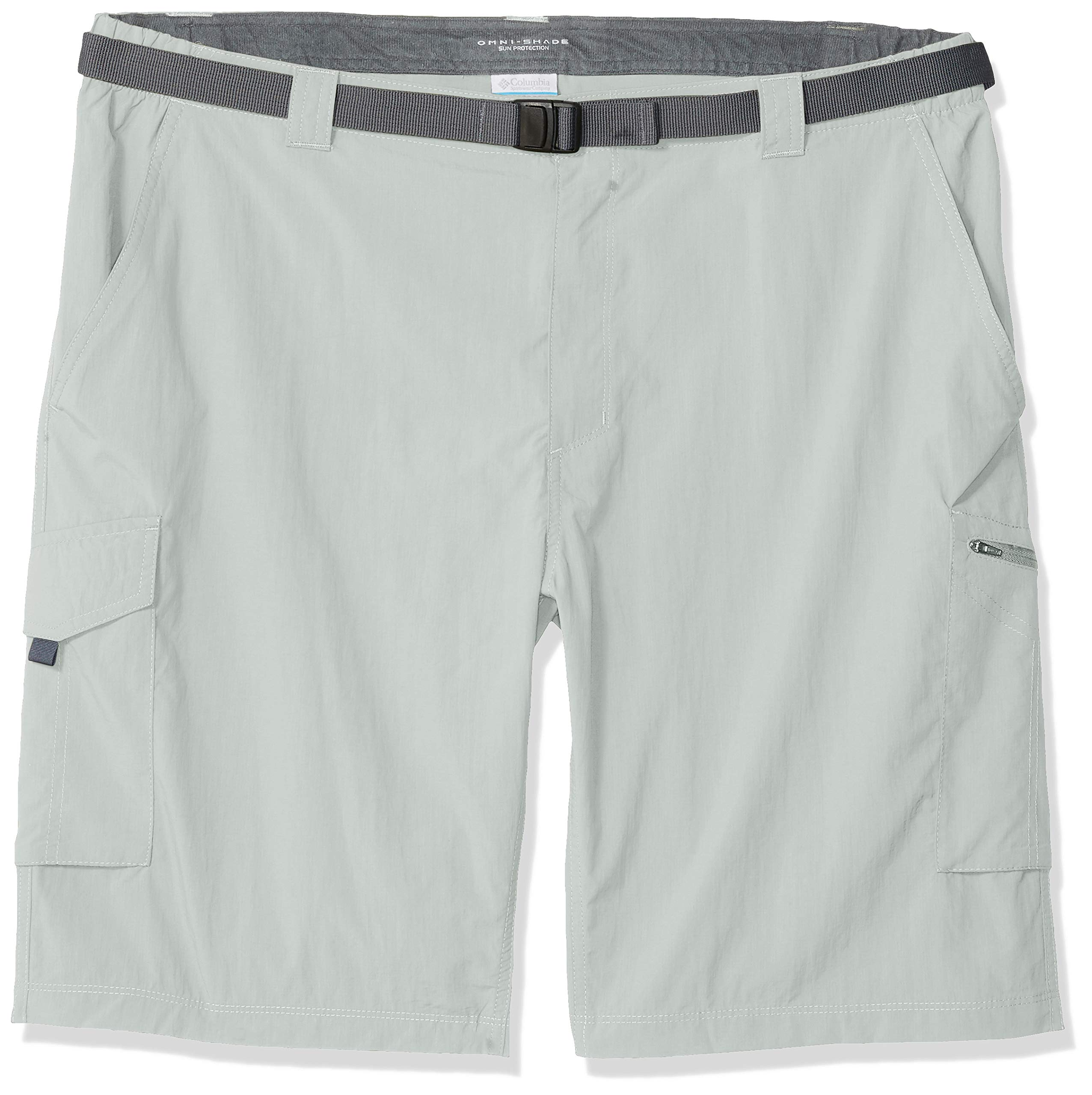 Columbia Men's Silver Ridge Cargo Short, Breathable, UPF 50 Sun Protection, Cool Grey, 30 x 10'' Inseam