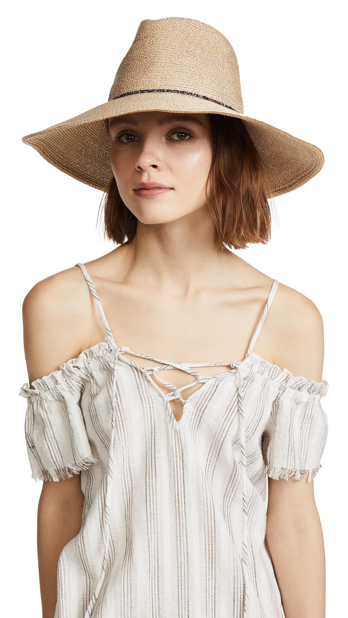 Eugenia Kim Women's Emmanuelle Beach Hat, Sand, One Size by Eugenia Kim (Image #1)