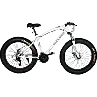 Endless 26T Fat Tyre Mountain Bike (Mat White)