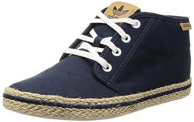 09b712b39c42 adidas Womens Originals Womens Honey Desert Espadrille Trainers in Blue -  UK 8