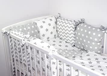 Baby S Comfort Cushion Bumper Made Of 6 Pillows 3 B