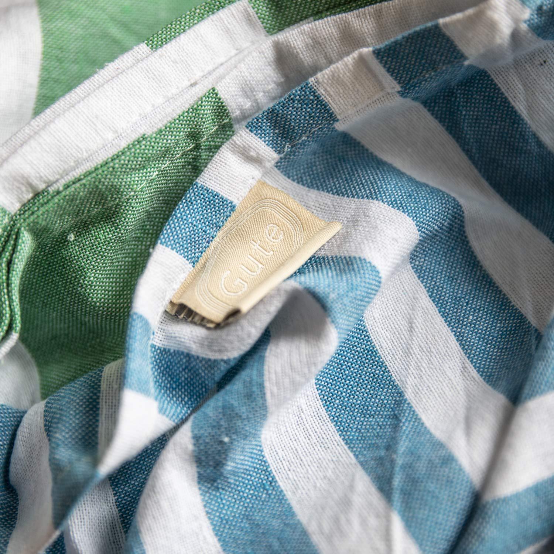 Gute (Set of 6) XXL Turkish Cotton Bath Beach Hammam Turkish Towel Sets Peshtemal Throw Fouta Blanket Set, Luxuries Towels by Gute (Image #9)