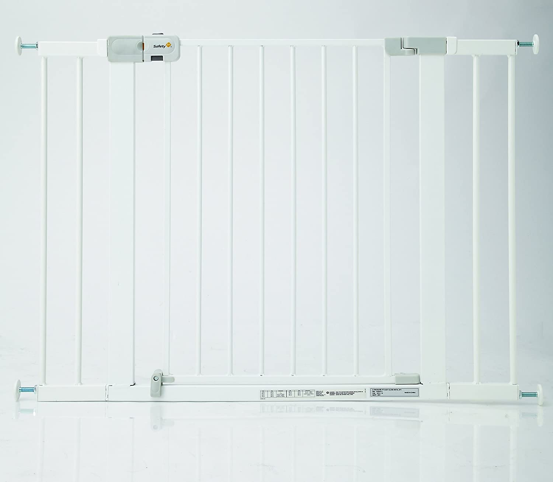 color blanco Extensi/ón de 7 cm para barrera de seguridad Safety 1st Easy Close Metal