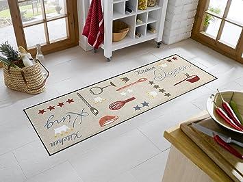 Teppich Läufer Küche sehr hochwertiger küchenläufer kitchen größe ca 60 x 180 cm