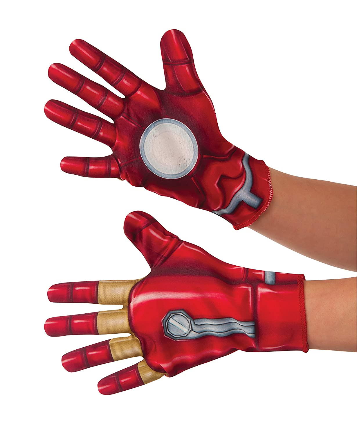 Rubies Costume Captain America-Civil War Kid's Iron Man Gloves 32872