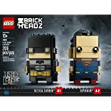 LEGO BrickHeadz 41610 Tactical BatmanTM & SupermanTM