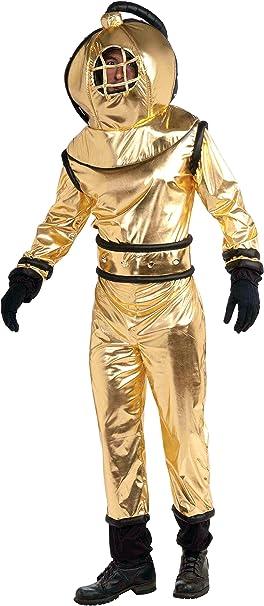 Amazon.com: Forum Novelties del Mar Profundo Diver Costume ...