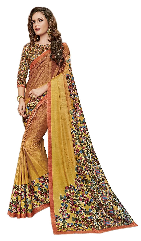 KIMANA Indian Designer Ethnic Bollywood Traditional Cotton Silk Saree Sari S2848 51002848