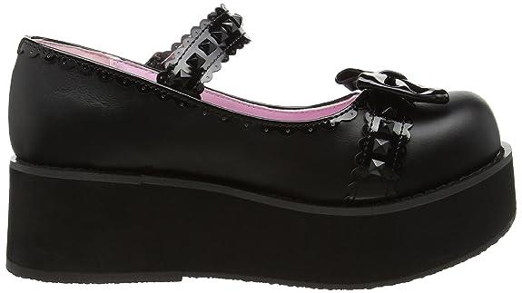 Demonia SPR04/BVL-S-PT Women's Fashion Sneaker: Amazon.ca: Shoes & Handbags