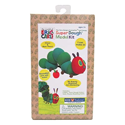 World of Eric Carle, The Very Hungry Caterpillar Super Dough Model Kit: Toys & Games