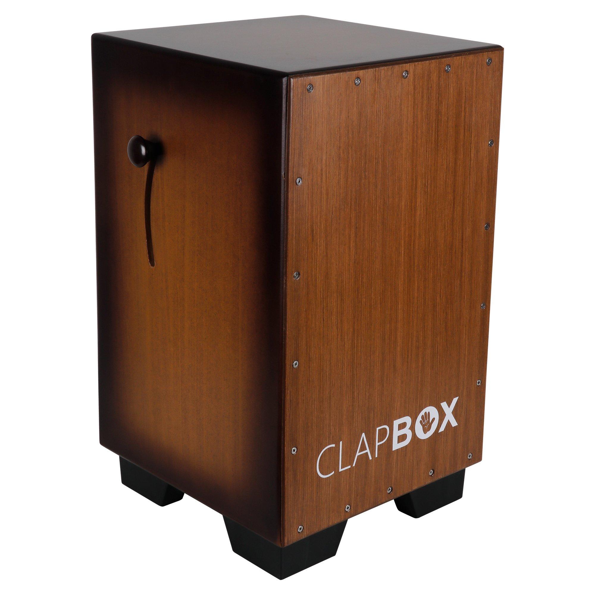 Clapbox Adjustable Snare Cajon CB65- Birch Wood, (H:50 W:30 L:30) - 3 Internal Snares product image