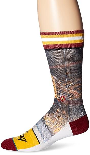 Stance - Calcetines Deportivos - Hombres Lebron James King James Cavaliers De Cleveland, Baloncesto NBA: Amazon.es: Ropa y accesorios