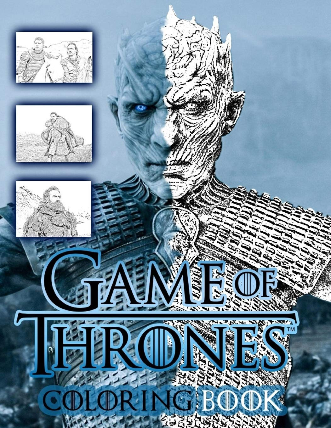 Amazon Com Game Of Thrones Coloring Book From Season 7