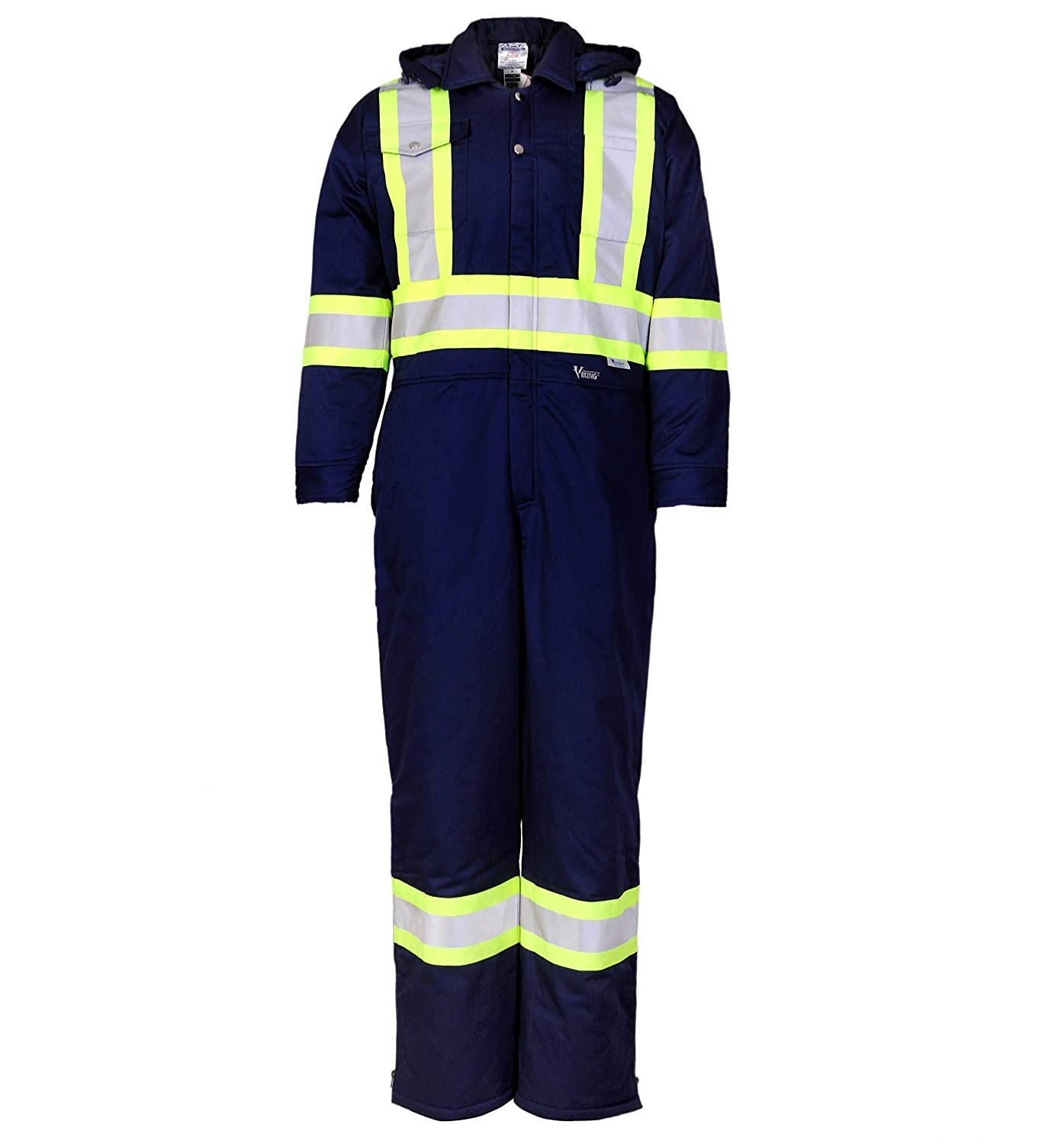Viking VC50N-M Insulated Coverall 4' Tape Navy M Alliance Mercantile Inc.