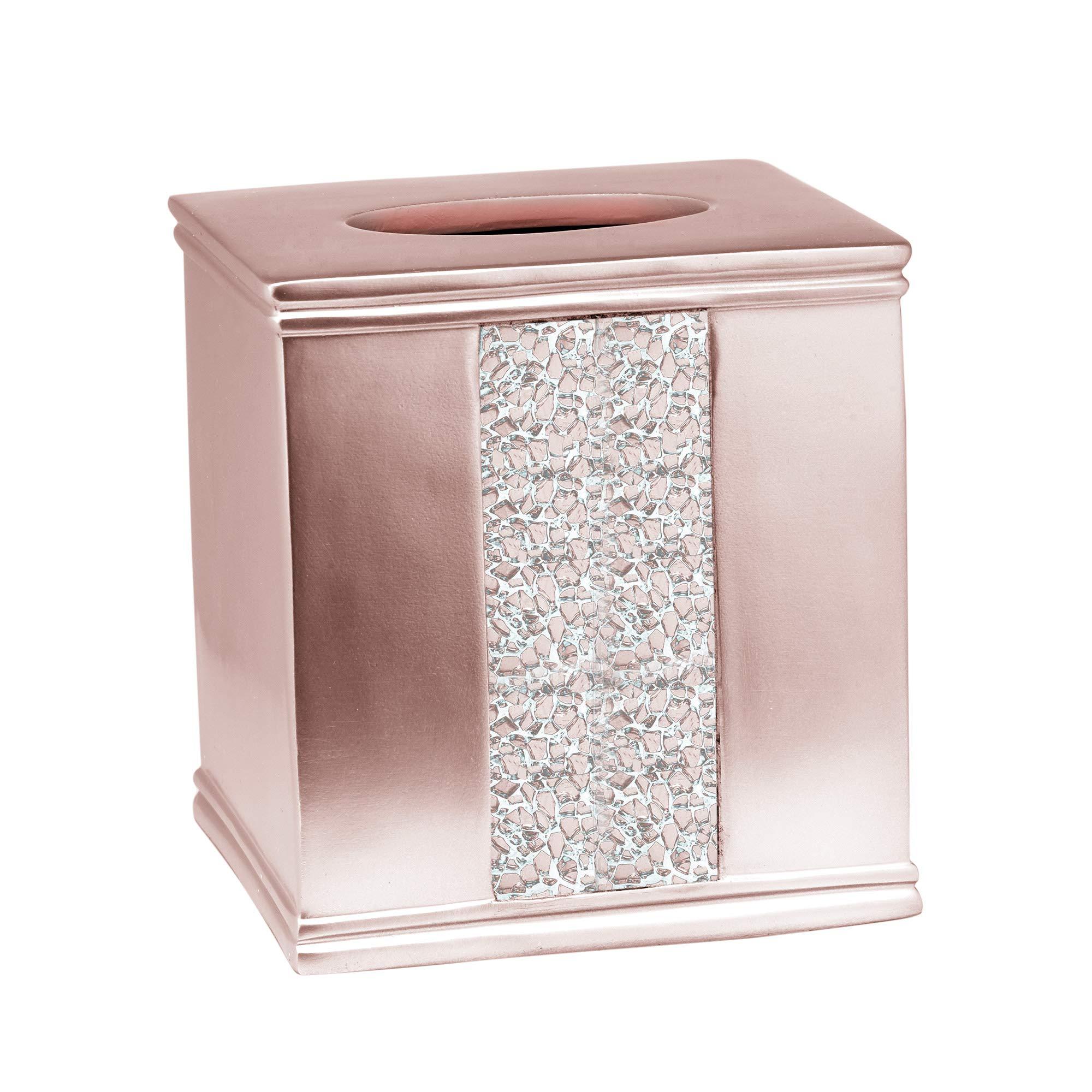 Popular Bath Sinatra Tissue Box, Blush