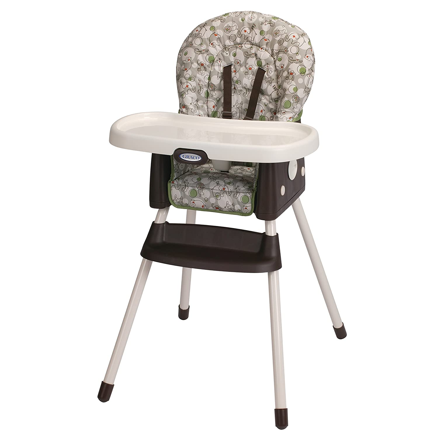 Baby eating chair attached to table - Graco Simpleswitch Portable High Chair And Booster
