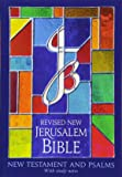 The RNJB: New Testament and Psalms: Revised New Jerusalem Bible