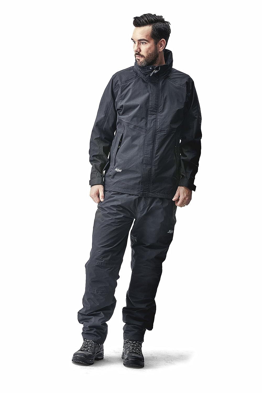 Snickers 83780400007 Waterproof Set Size XL in Black X-Large