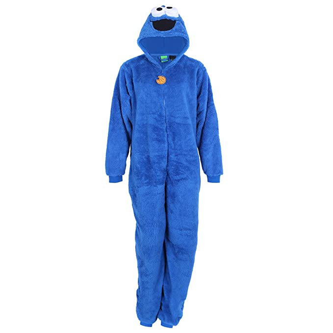 Sesame Street -:- Cookie Monster -:- Traje Azul Monstruo de ...