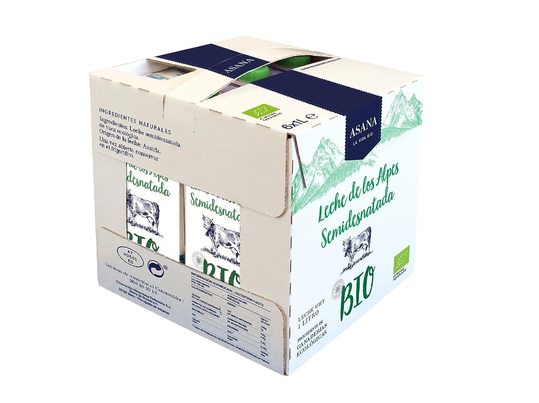 Asana Leche Ecológico - Paquete de 6 x 1000 ml - Total: 6000 ml: Amazon.es: Alimentación y bebidas