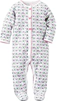 Carters Baby Clothing Outfit Girls Cotton Snap-Up Sleep & Play Butterfly Print
