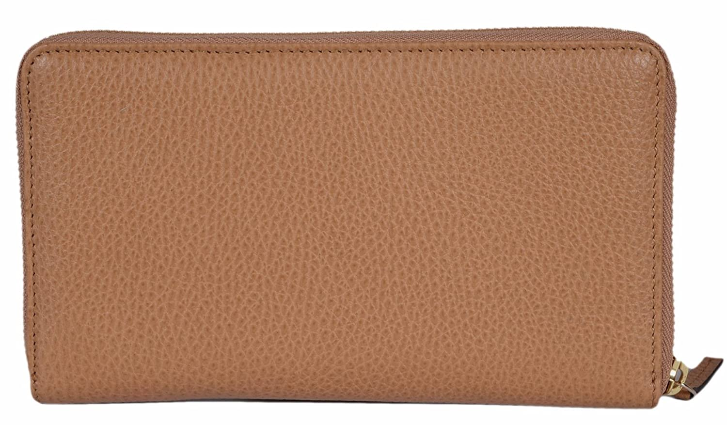 f40e2daba63 Amazon.com  Gucci Women s XL Textured Leather Zip Around Travel Clutch  Wallet (Whisky Beige)  Shoes