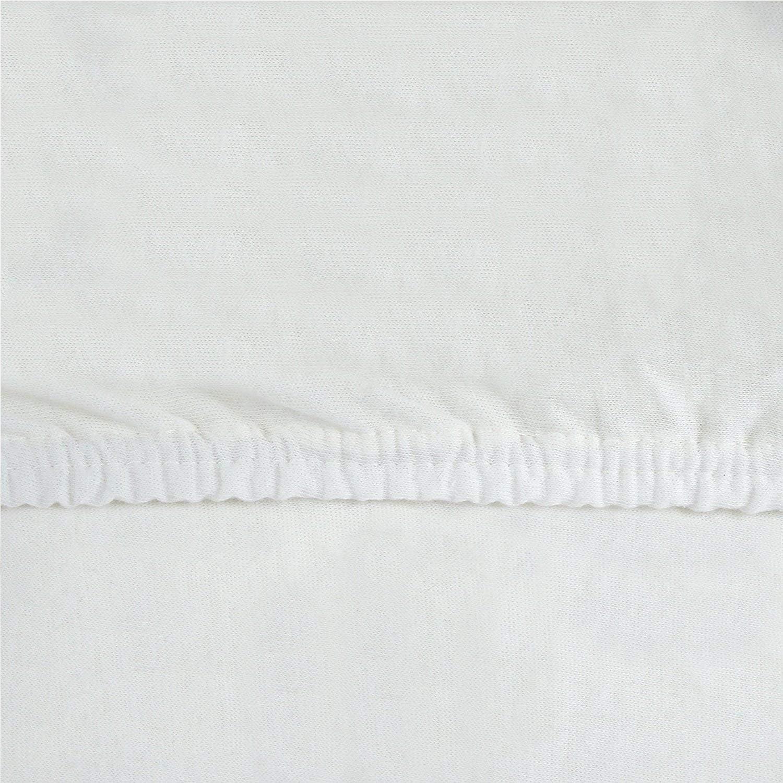 en muchos colores /S/ábana bajera ajustable 100/% algod/ón para cama infantil colchones Certificado Oeko-Tex Schokobraun // Dunkelbraun 70 x 140 cm tela 2/Pack de ahorro Ni/ños/