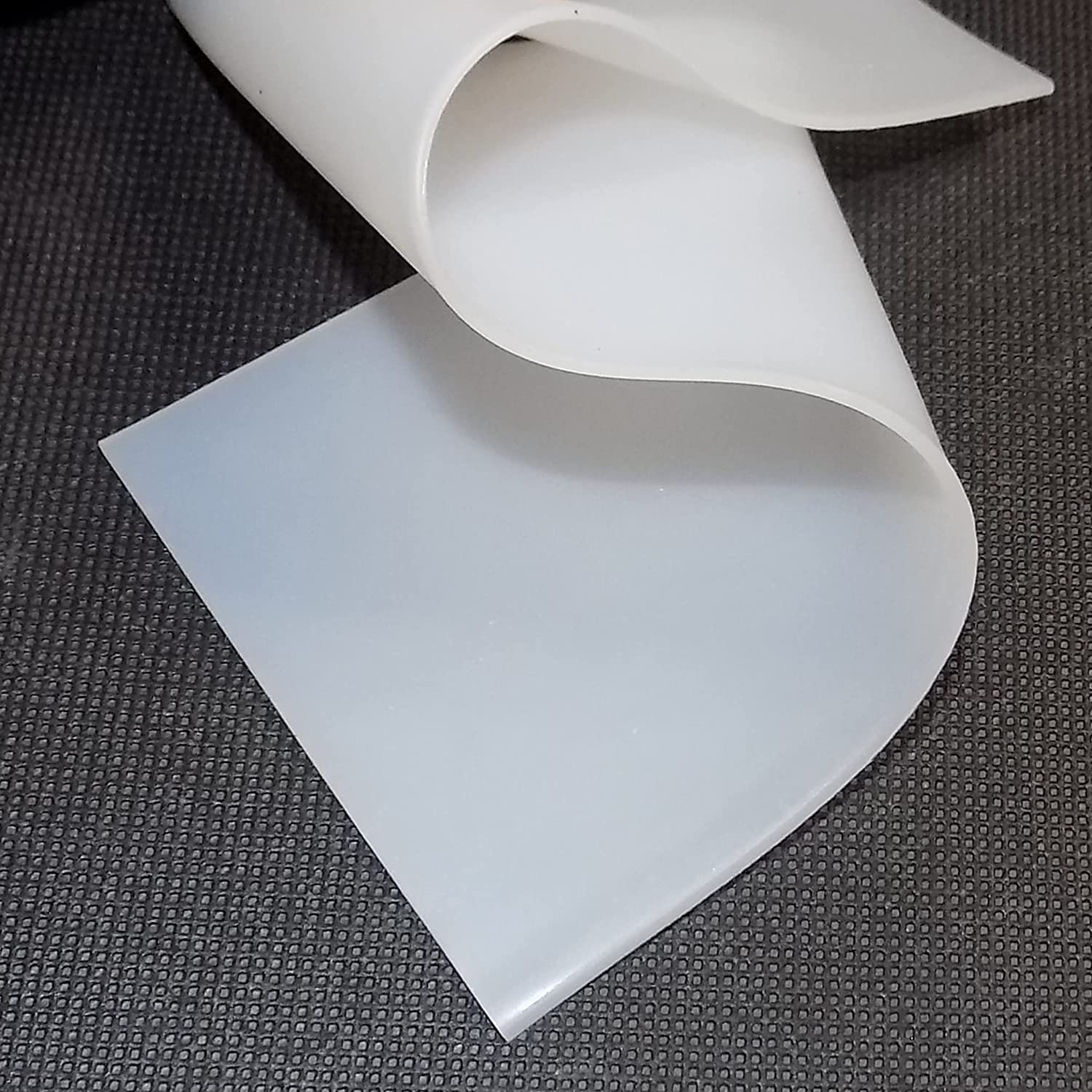 Silicone Rubber Sheet, 50A Durometer, 1/16 inch Thick, 2.75