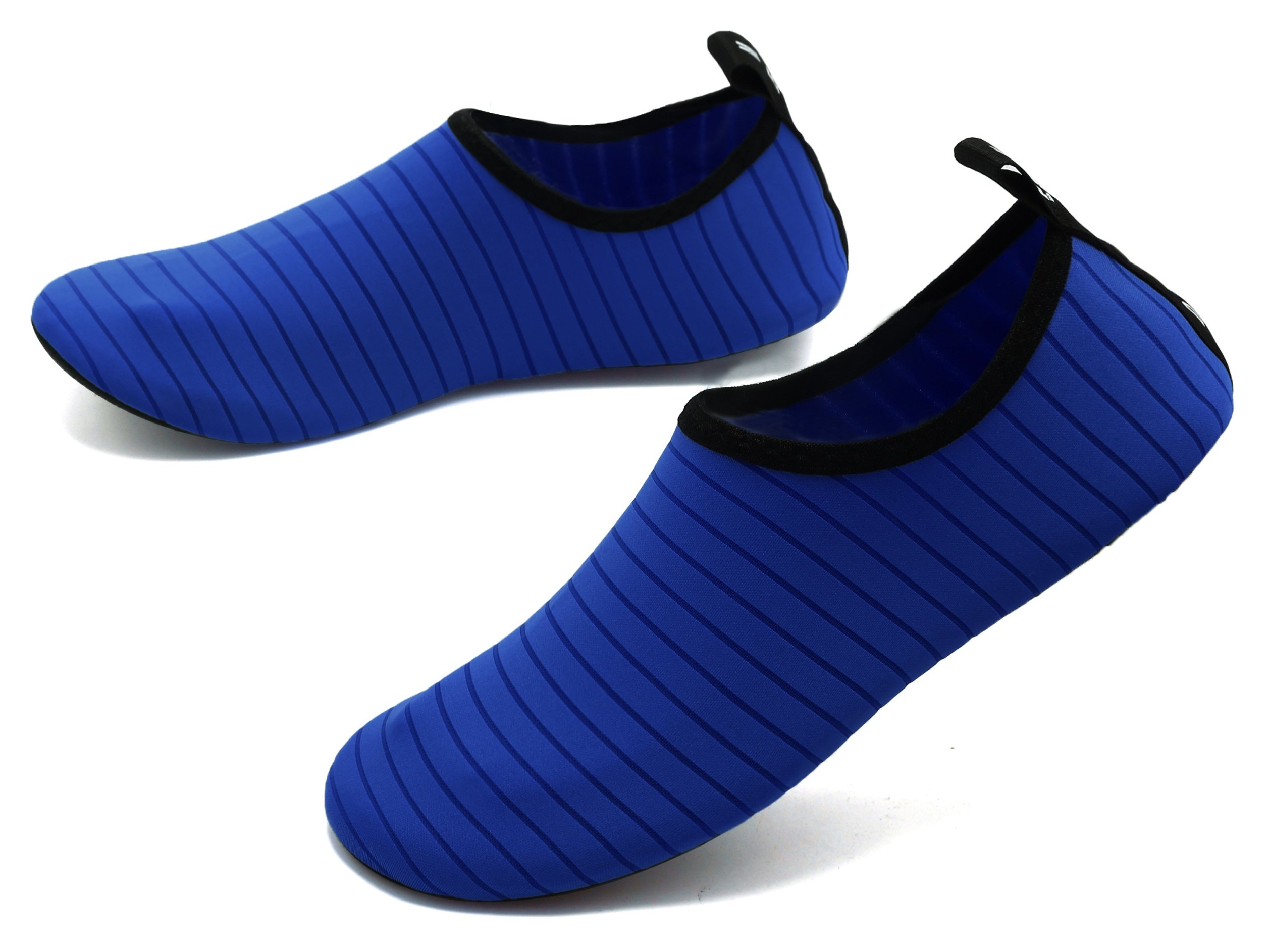 GUPYING Womens and Mens Summer Outdoor Water Shoes Aqua Socks for Beach Swim Surf Yoga Exercise (M(W:7.5-8.5,M:6.5-7.5), Blue) 38-39 by GUPYING (Image #3)