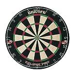 Eclipse Pro Dartboard - Black/White/Red/Green