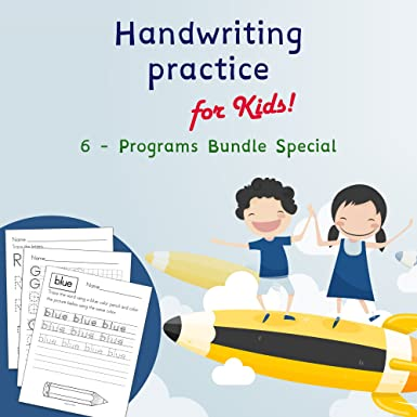 Amazon.com: Handwriting Practice For Kids | 6 Special Programs to ...