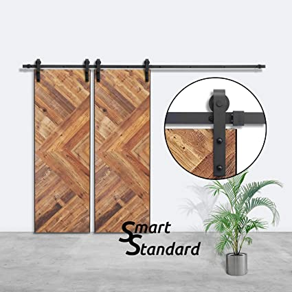 Amazon Smartstandard 10ft Double Door Sliding Barn Door