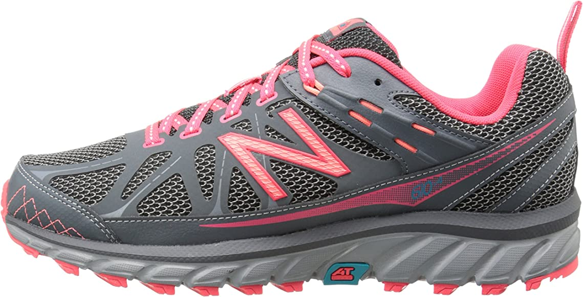 New Balance 610v4, Zapatillas de Running para Mujer, Lead with Steel Grey & Bright Cherry, 37.5 EU: Amazon.es: Zapatos y complementos