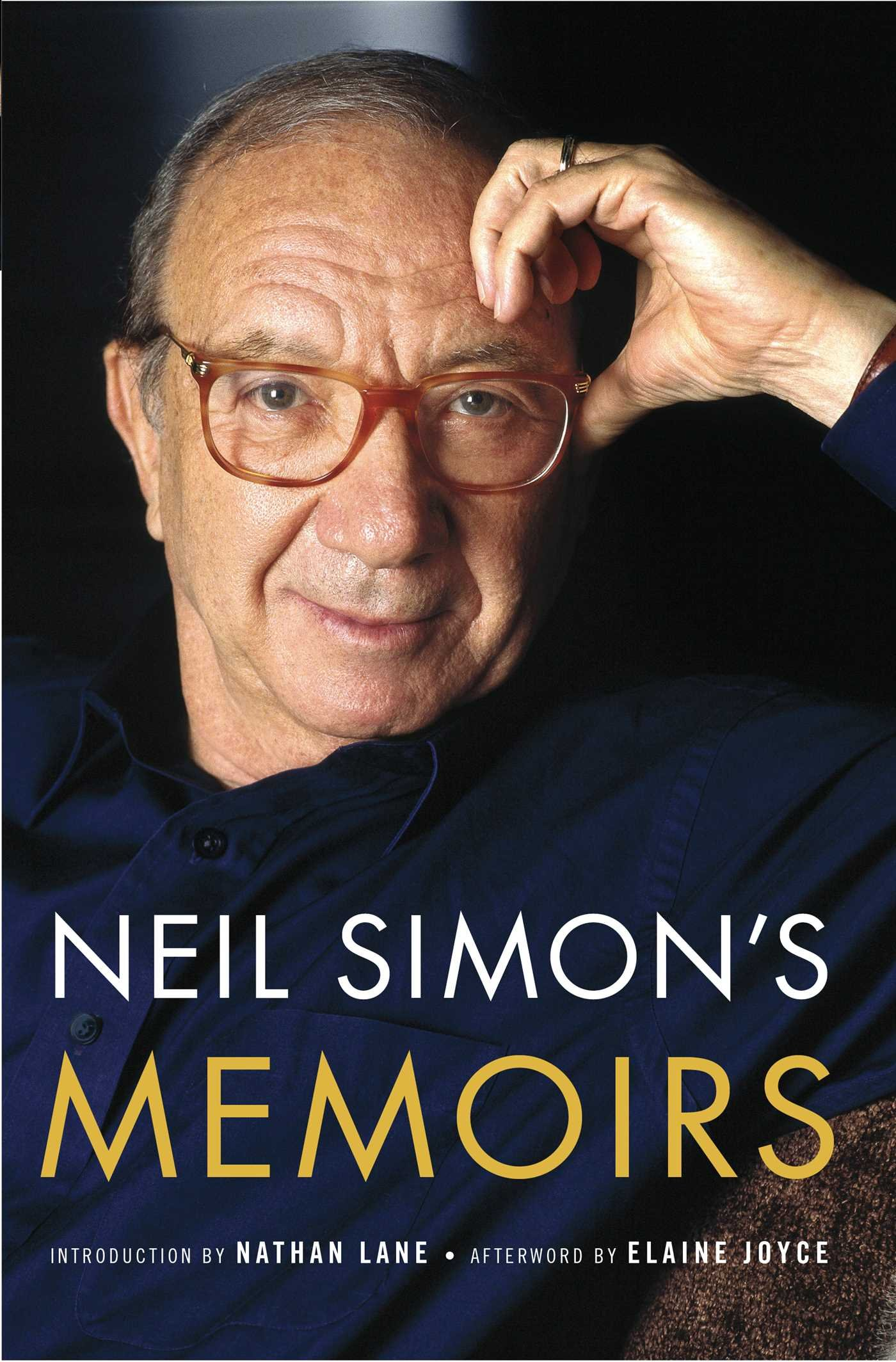 Neil Simon S Memoirs Simon Neil 9781501155000 Amazon Com Books