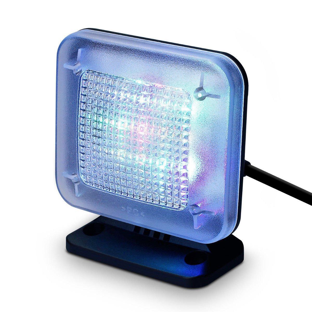 Home Anti Burglar Anti theft Fake TV Simulator with Timer and Light Sensor LED Light (Plug UK plug)