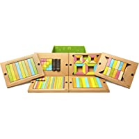 Tegu Classroom 130Pc. Magnetic Wooden Block Set