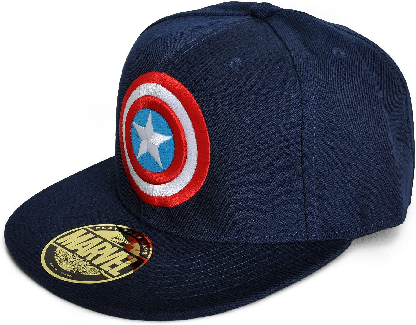 Capitán América - Gorra de béisbol con Logotipo Superhéroes Marvel ...