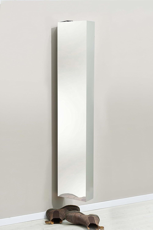 SchuH-Bert 300 MIRROR Schuhschrank Mehrzweckschrank drehbar Höhe Höhe Höhe 150cm MUSKAT db231a
