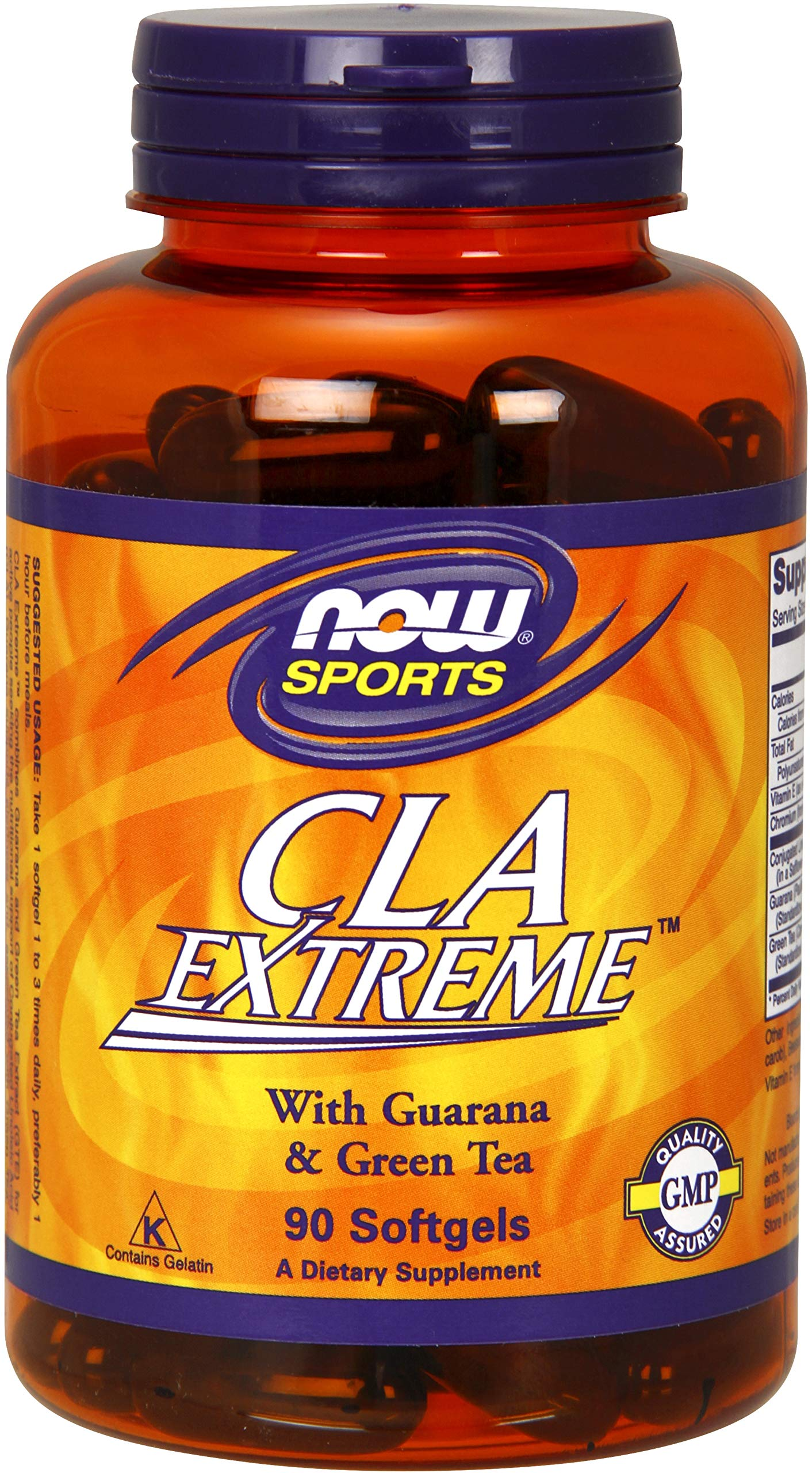 NOW® Sports CLA Extreme, 90 Softgels