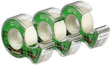 Scotch magic tape strips